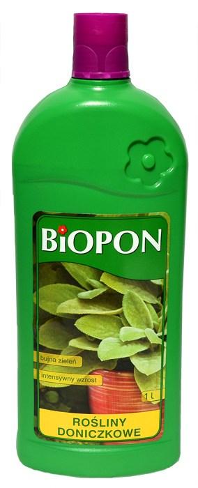Biopon nawóz do roślin doniczkowych 1L-0