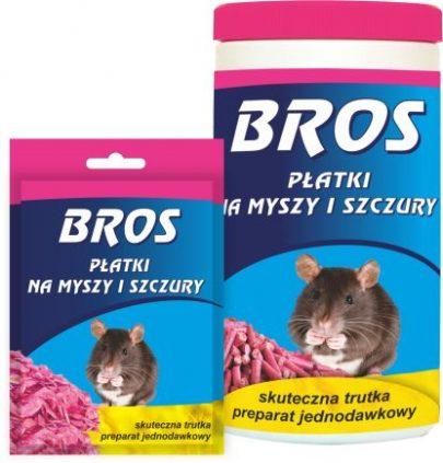 Bros płatki na myszy i szczury 90g-0
