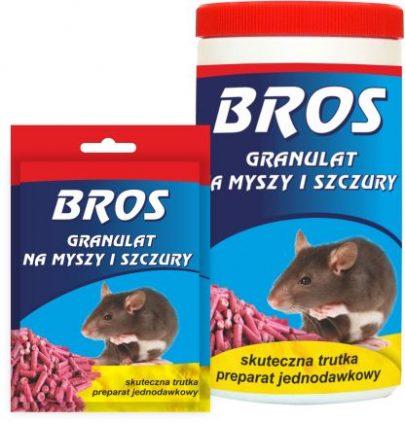 Bros granulat na myszy i szczury 90g-0