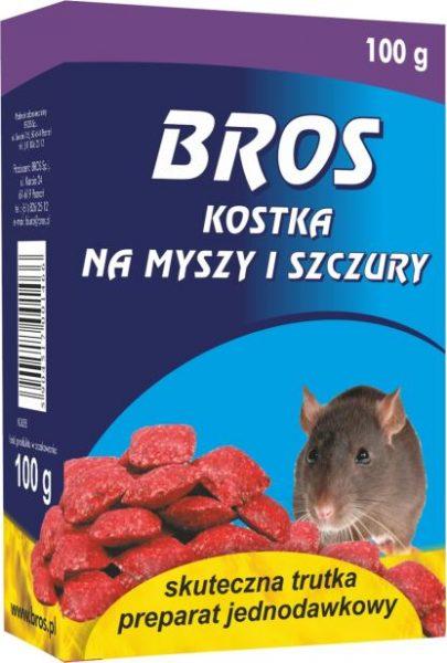 Bros kostka na myszy i szczury 100g-0