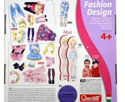 Układanka Magnetyczna Moda Fashion Design-1800