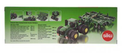 Siku - Traktor John deer z rozrzutnikiem-2095