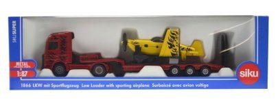 Siku ciężarówka z samolotem-0