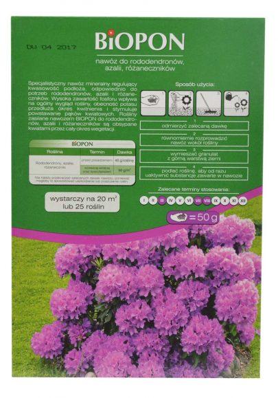 BIOPON - nawzóz do rododendronów, azalii, różaneczników 1 kg-2601