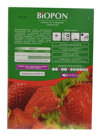 BIOPON - nawóz do truskawek i poziomek 1 kg-2611