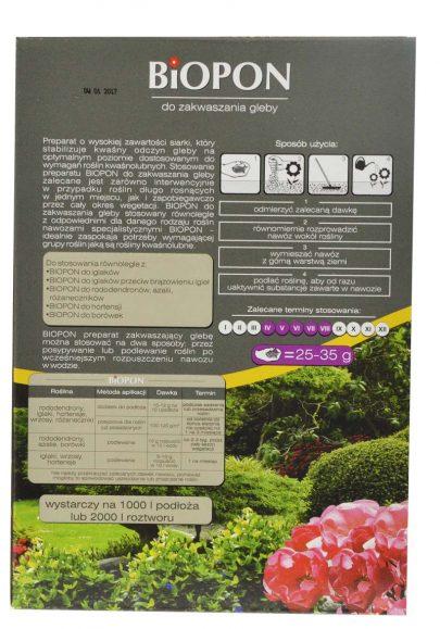 BIOPON - do zakwaszania gleby 1 kg-2619