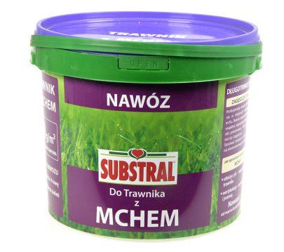 SUBSTRAL - nawóz do trawnika z mchem 5 kg-0