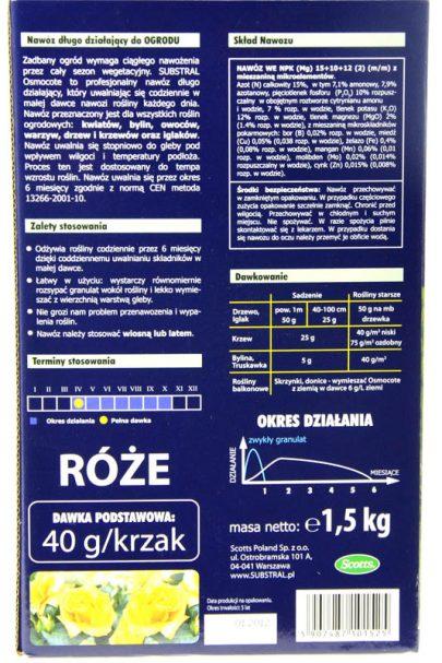 Substral - extra długo działający ogród 1,5kg-2720
