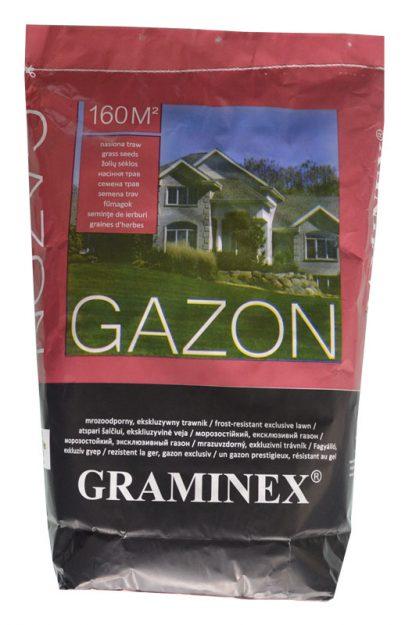 GRAMINEX GAZON - ekskluzywny, mrozoodporny trawnik - 4 kg-0