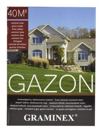 GRAMINEX GAZON - ekskluzywny, mrozoodporny trawnik - 1 kg-0