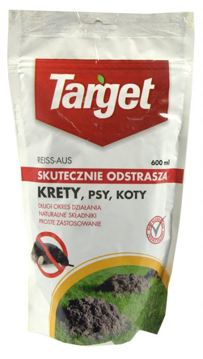 TARGET - Reiss Aus - skutecznie odstrasza krety, psy, koty 600 ml-0