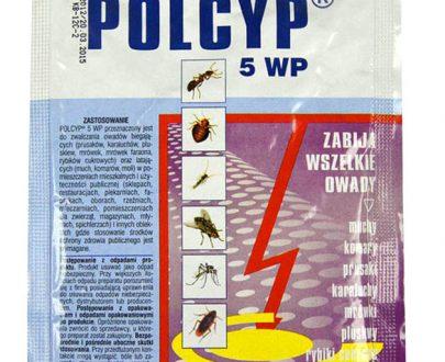POLCYP 5 WP - zabija wszelkie owady 25 g-0