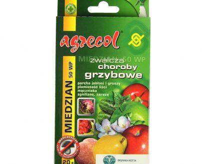 AGRECOL - Miedzian 50 WP - zwalcza choroby grzybowe 20 g-0
