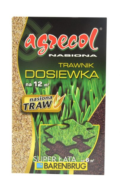 AGRECOL - Nasiona trawnik dosiewka - super łata 300 g-0