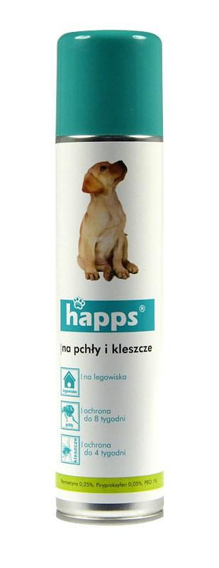 Happs Aerozol na pchły i kleszcze 250 ml-0