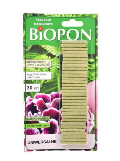 BIOPON Natural Pałeczki nawozowe uniwersalne 30 szt-0