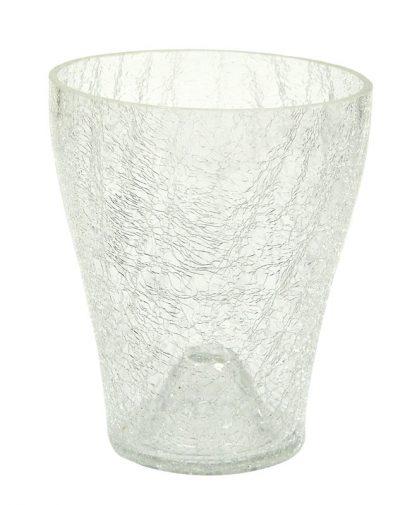 POLNIX Szklana Osłonka pod storczyk średnica 14 cm-0