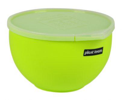 PLAST TEAM Miska do mieszania SUPER z przykrywką MICRO 1 L-0