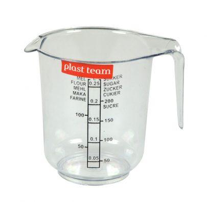 PLAST TEAM Dzbanek z miarką 0,25 L-0