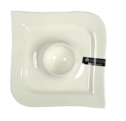 AMBITION Naczynie na jajko Fala 12,5 cm-0