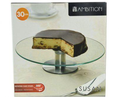 AMBITION Obrotowa patera na ciasto 30 cm-0