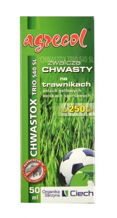 AGRECOL - Chwastox Trio 540 SL - zwalcza chwasty na trawnikach 50 ml-0