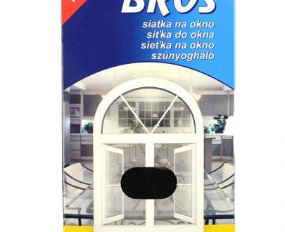BROS - siatka na okno 150 x 180 - czarna-0