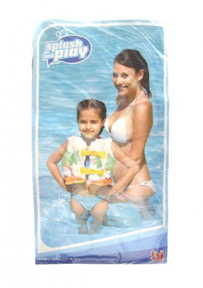 BESTWAY - Kamizelka do pływania z tropikalnym wzorem-0