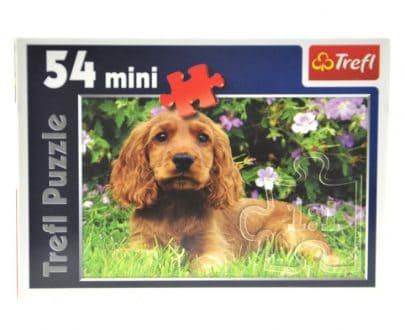 TREFL Puzzle Mini 54 - Piesek-0