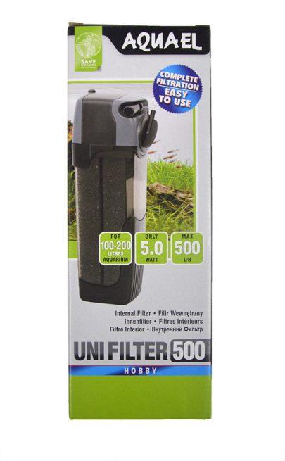 Aquael Uni Filter 500 - Filtr wewnętrzny -0