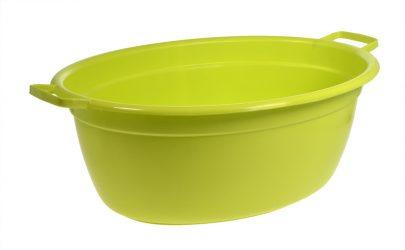 Miska owalna 65 cm - limonka-0
