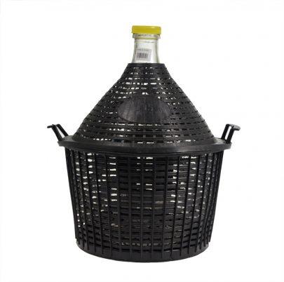 Balon do wina w koszu 15 L-0