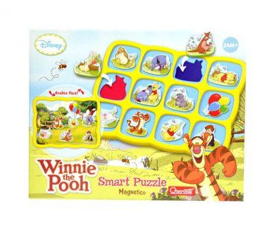 Disney Winnie the Pooh - układanka magnetyczna Kubuś Puchatek-0