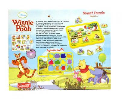 Disney Winnie the Pooh - układanka magnetyczna Kubuś Puchatek-7765