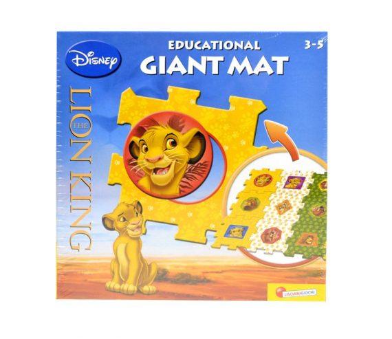 Disney Król Lew - Modułowy dywanik edukacyjny-0