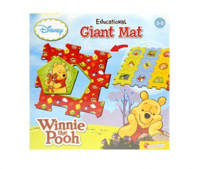 Disney Kubuś Puchatek - Modułowy dywanik edukacyjny-0