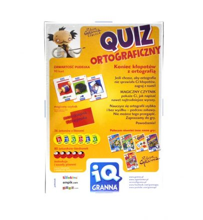 GRANNA Quiz ortograficzny-8199