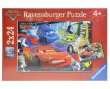RAVENSBURGER Puzzle 2 x 24 - Disney Cars-0
