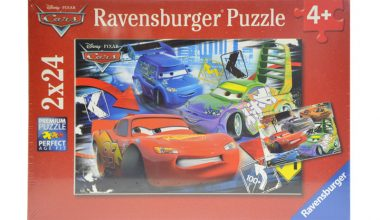 RAVENSBURGER Puzzle 2 x 24 - Disney Cars-0