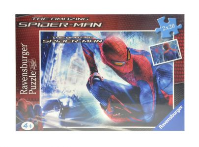 RAVENSBURGER Puzzle 2 x 24 - Spiderman-0
