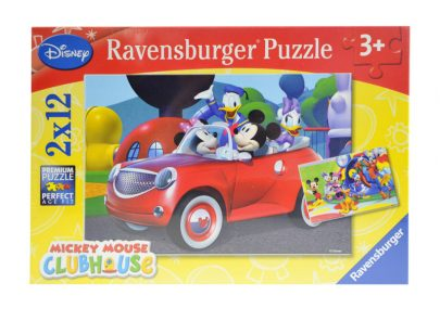 RAVENSBURGER Puzzle 2 x 12 - Disney Mickey Mouse-0