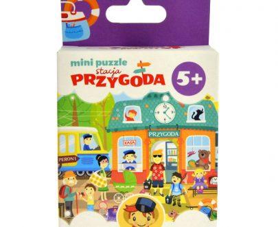 Czu Czu Mini Puzzle Stacja Przygoda-0
