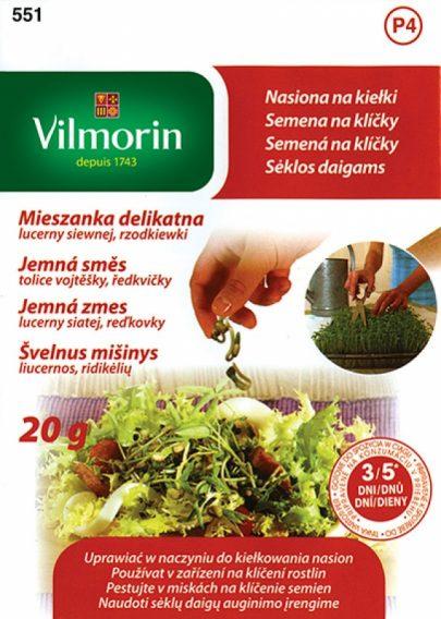 Mieszanka delikatna - lucerna siewna i rzodkiewka - Vilmorin-0