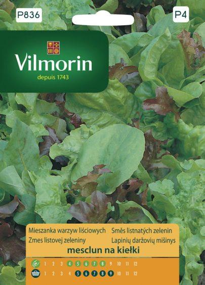 Mieszanka warzyw liściowych - mesclun na kiełki - Vilmorin-0