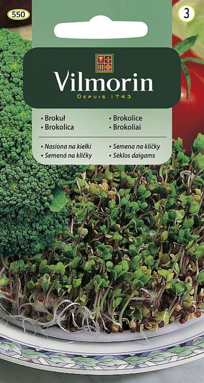Brokuł nasiona na kiełki - Vilmorin-0