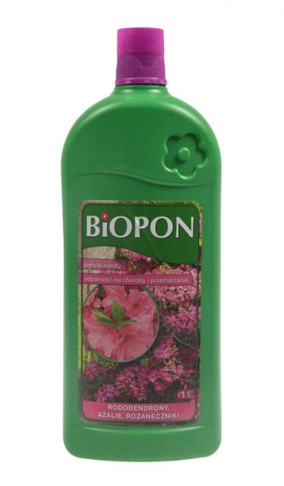 BIOPON Nawóz do rododendronów, azalii, różaneczników 1 L-0