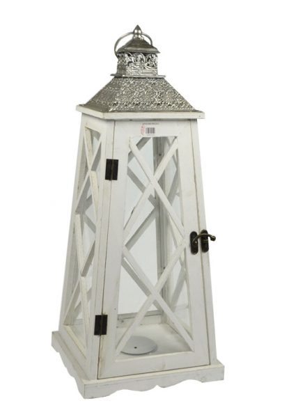 Lampion drewniany 62 cm-0