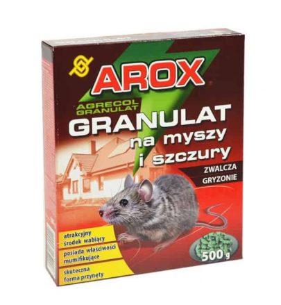 AROX Granulat na myszy i szczury 500 g-0