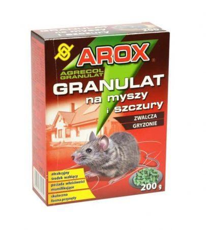AROX Granulat na myszy i szczury 200 g-0