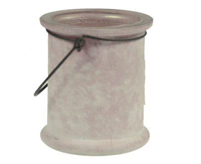 Świecznik szklany-0